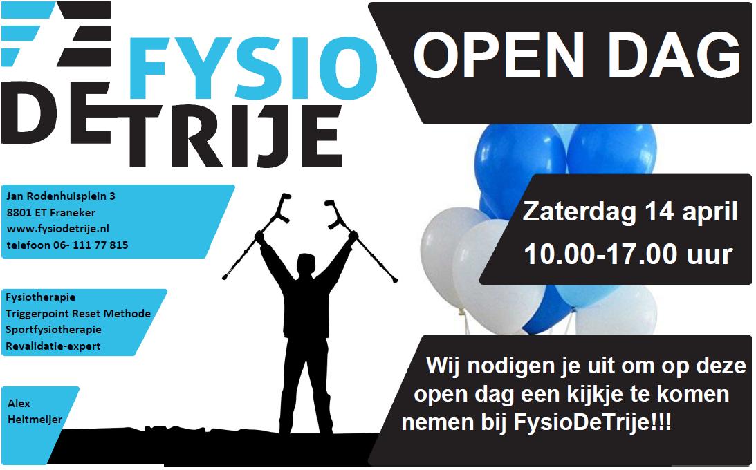 Open dag FysioDeTrije franeker